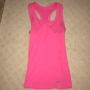 Pink Nike Tank Top